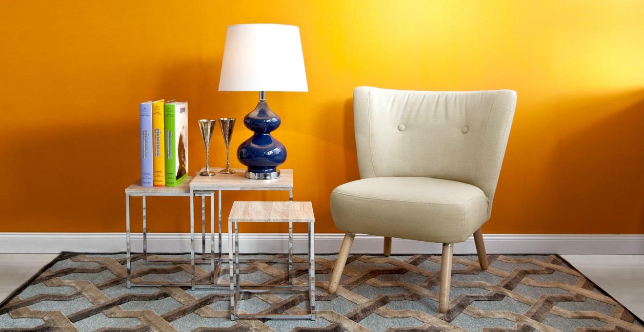 Arancione colore e calore per la casa  DALANI