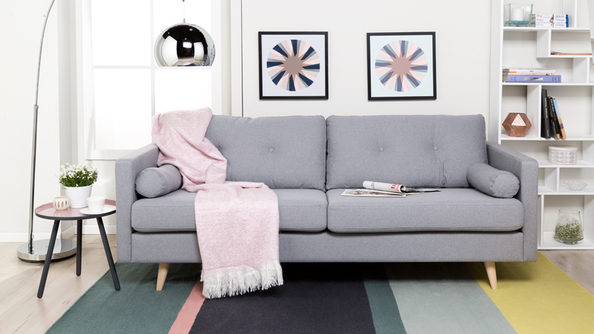 DALANI  Divano grigio comfort e stile in salotto