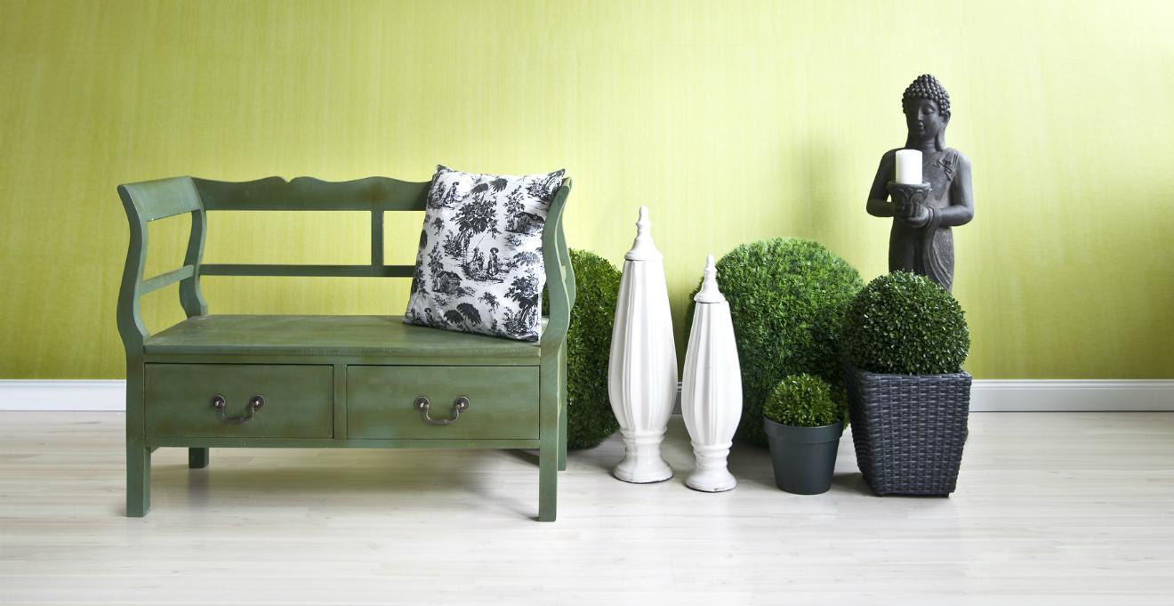Verde per una casa in stile naturale I DALANI
