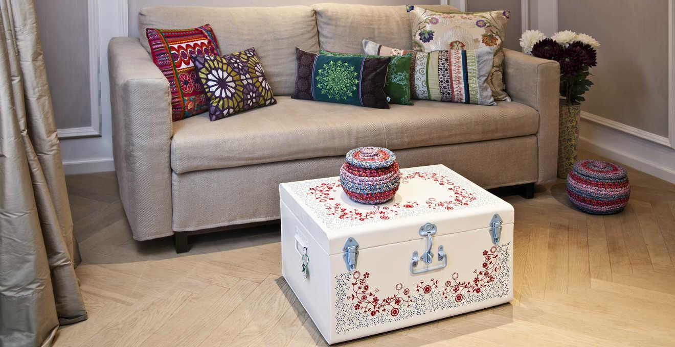 DALANI  Federe per cuscini 65x65 colorate ed eleganti