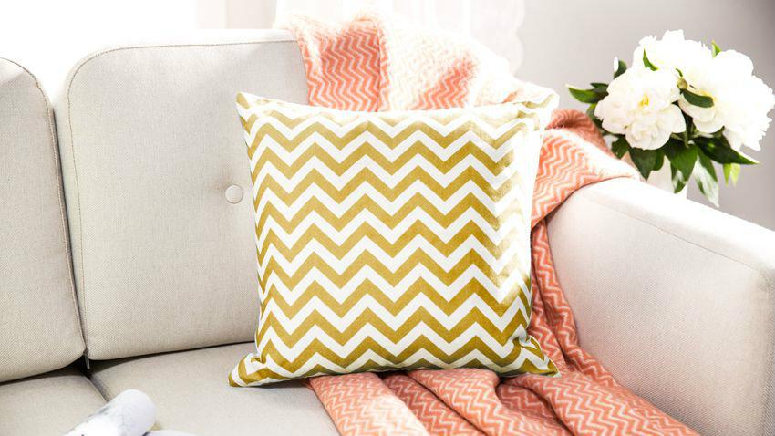 Cuscini a righe soffici accessori colorati alla modaDALANI