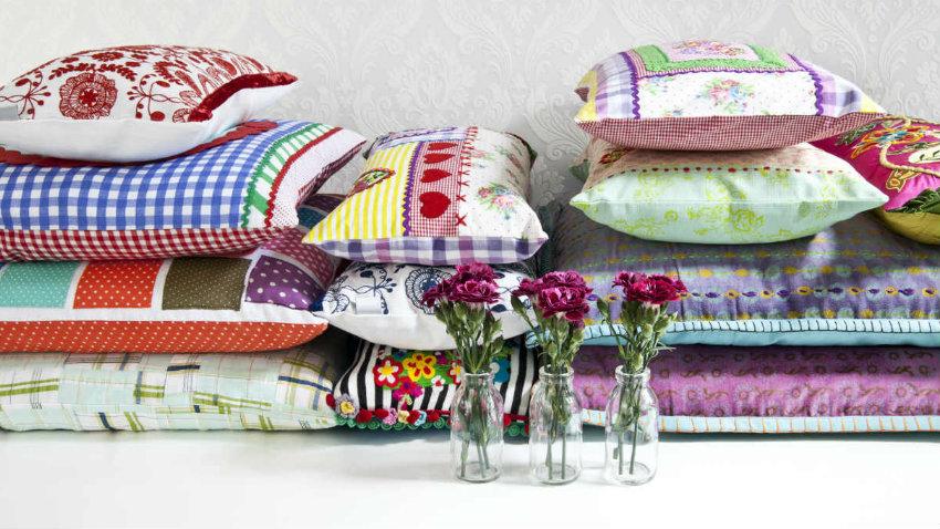 DALANI  Federe per cuscini 60 x 60 allegra stoffa colorata