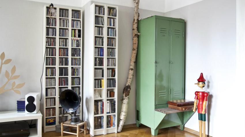 DALANI  Libreria con cassetti eleganza e raffinatezza