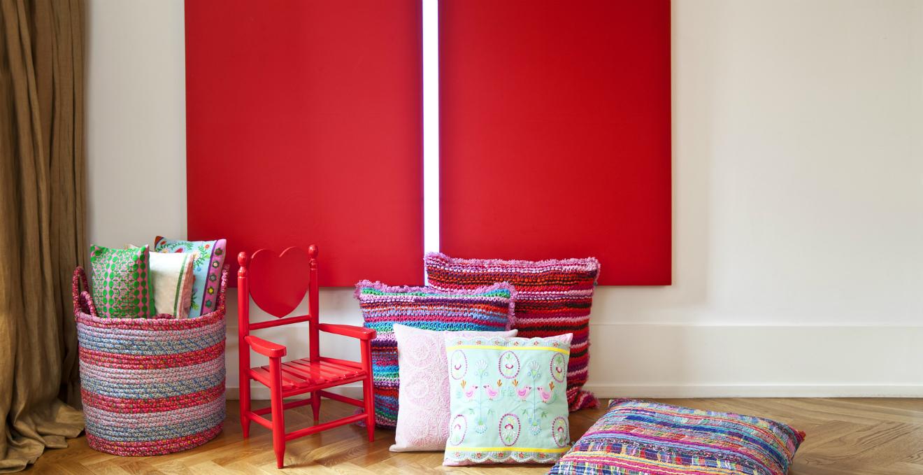 Camera da letto rossa allegria nella zona notte  DALANI
