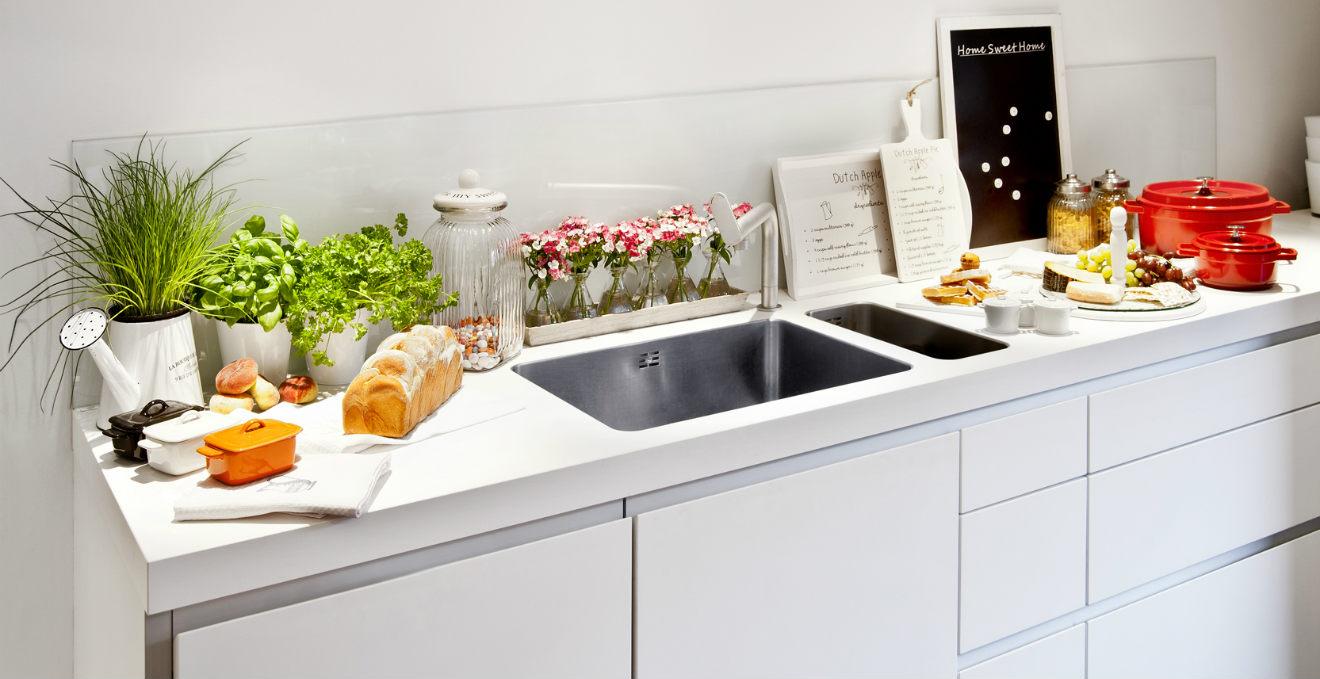 Cucina bianca tra classico e raffinato  DALANI