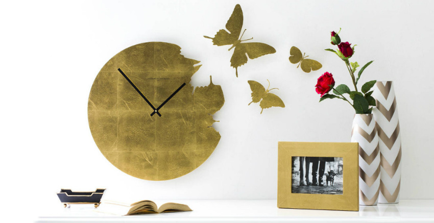DALANI  Orologi da parete con farfalle aria di primavera