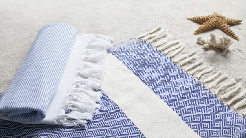 DALANI  Telo mare in cotone stile e comfort in spiaggia