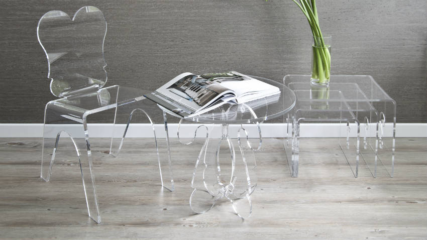 Sedie kartell trasparenti idee per la decorazione di for Sedie plastica design kartell