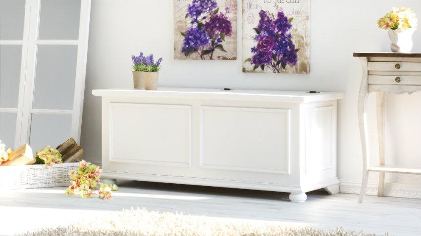 Soggiorno provenzale mobili e accessori in legno DALANI
