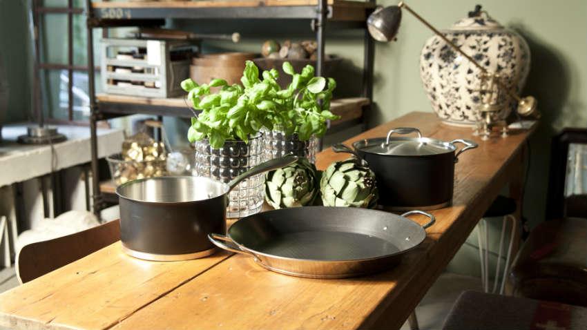 DALANI Tavolo allungabile in legno massello cene di stile