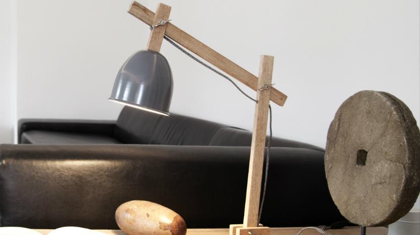 DALANI  Lampade in legno eleganti giochi di luce