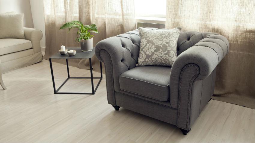 DALANI  Poltrona stile inglese soggiorno in stile cottage