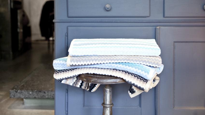 Mobile bagno blu accessori per una stanza di relax  DALANI