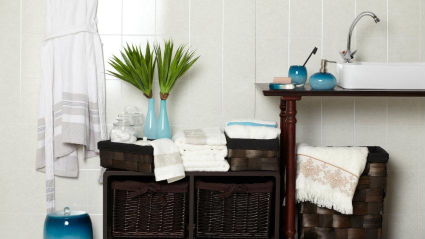 DALANI  Mobile bagno in legno grezzo relax in stile