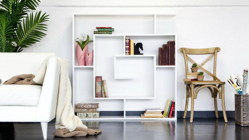Libreria bifacciale elegante soluzione design  DALANI