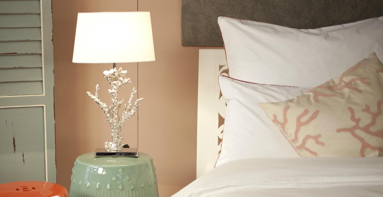 Shop hier je romantische net voor boven je bed  Westwing