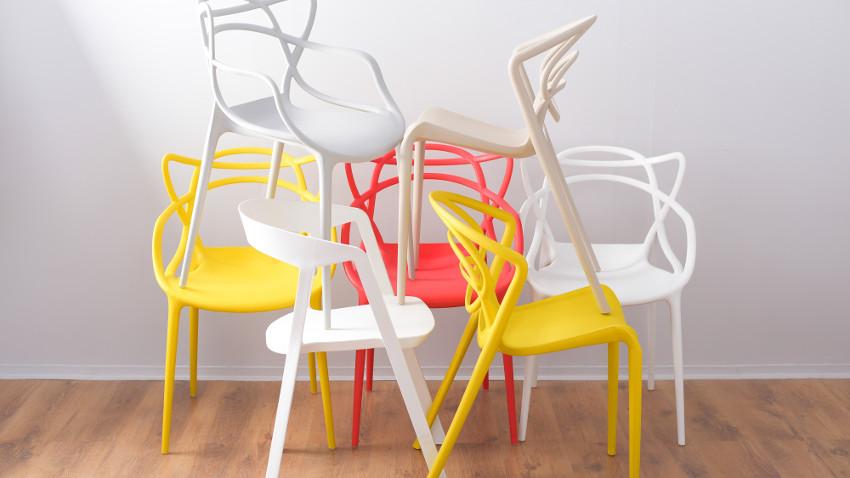 Handige  praktische kunststof stoelen  Westwing