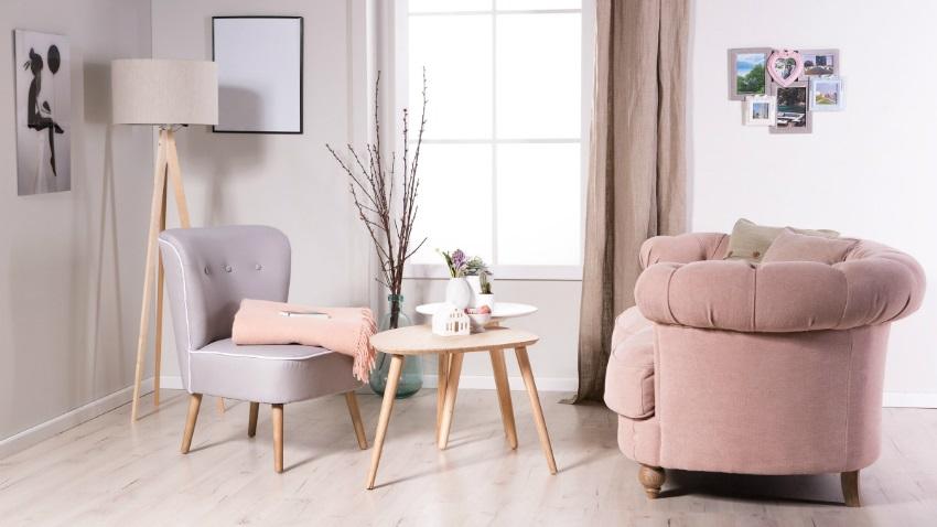 De trendy  stijlvolle roze bank  Westwing