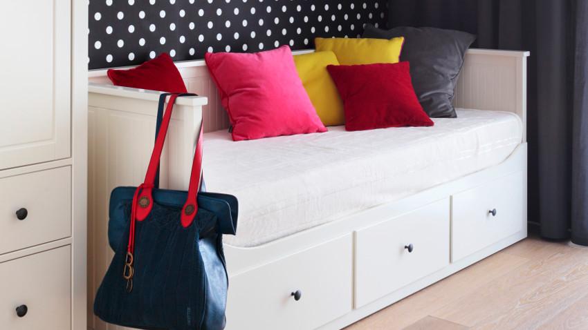 Creer ruimte met een bed met onderschuifbed Westwing