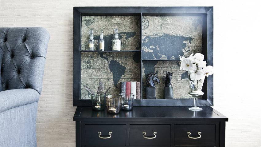Shop hier trendy wereldkaart behang mt korting  Westwing