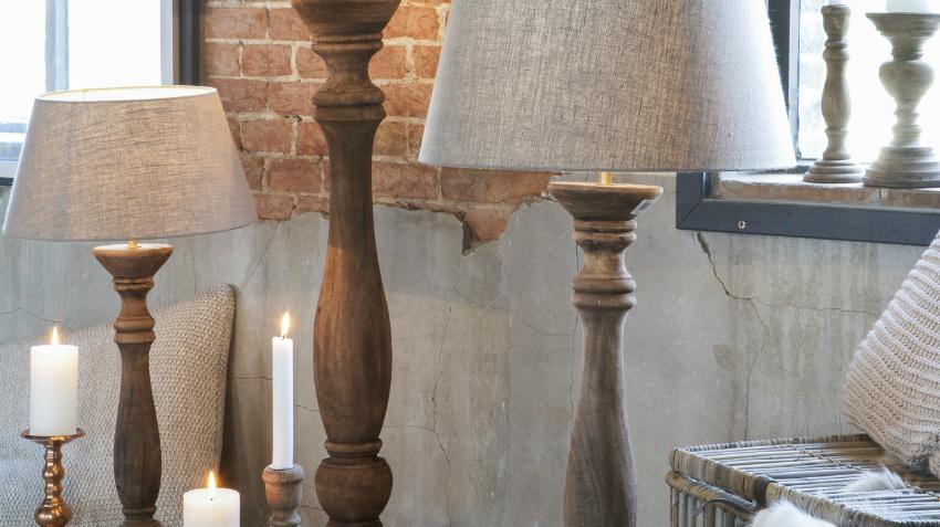 Landelijke lampen authentieke sfeermakers  Westwing