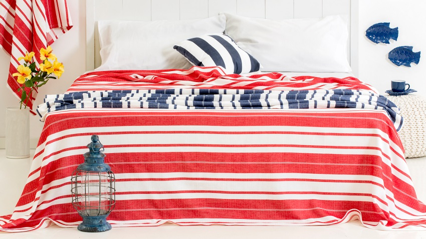 Stoer een dekbedovertrek Amerikaanse vlag  Westwing