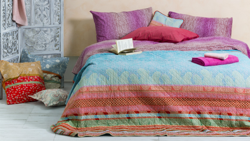 Shop hier je patchwork sprei mt korting  Westwing