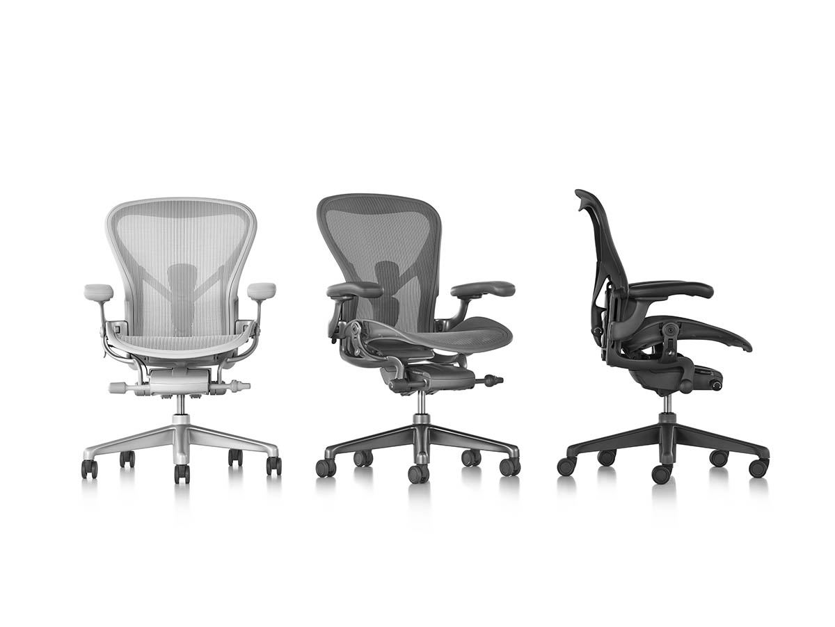 aeron chair sizes french provincial occasional chairs first look herman miller has redesigned the