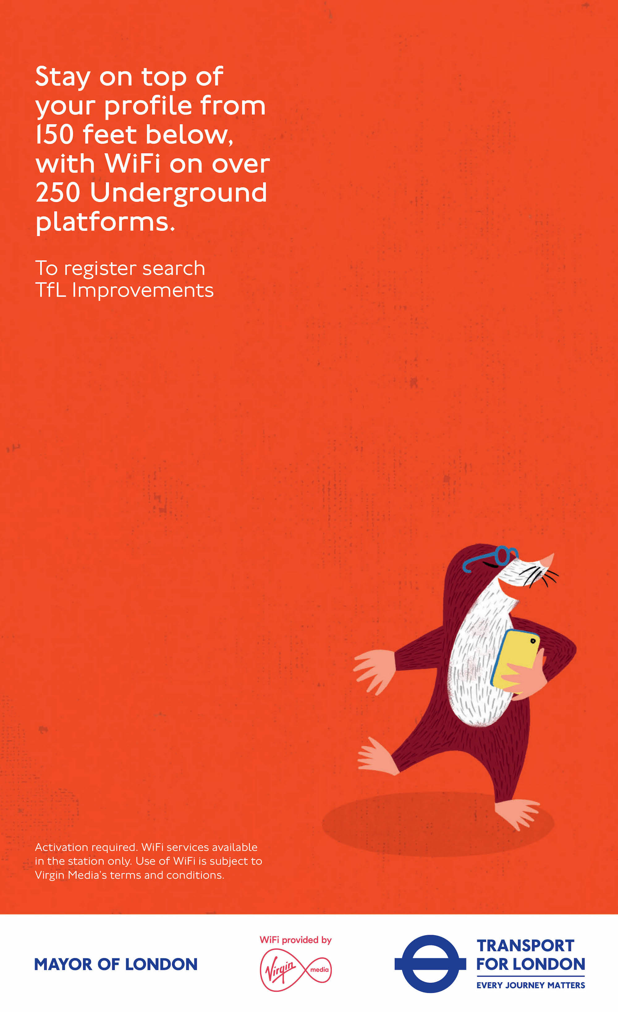 First TfL ads from VCCP  an illustration led campaign