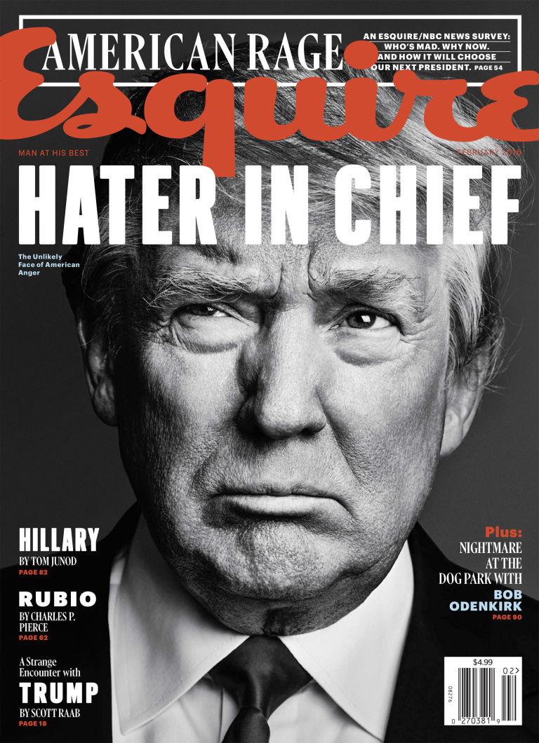 Trump via Esquire