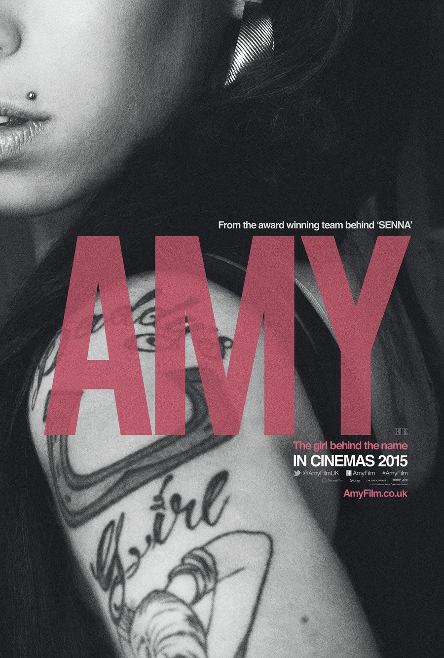 Amy Winehouse film poster designed by Wonderland