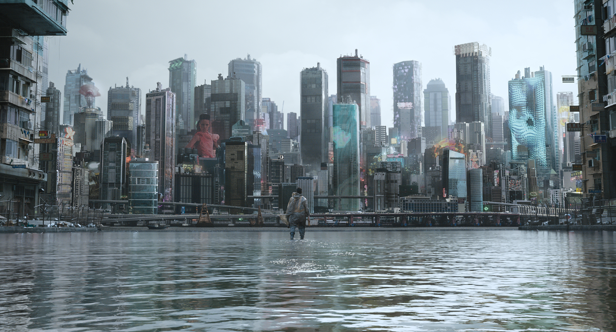Best 3d Hologram Wallpaper Ghost In The Shell Creating A Hybrid World Creative Review