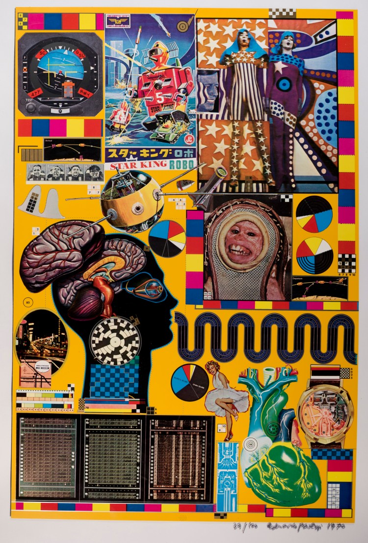 Hollywood Wax Museum, from Zero Energy Experimental Pile. © The Eduardo Paolozzi Foundation