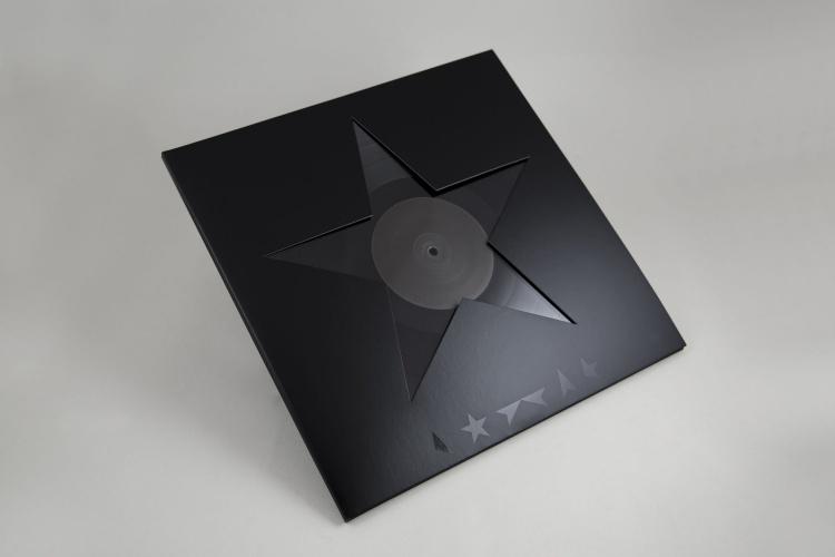 David Bowie Blackstar album artwork