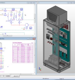3d schematic software wiring libraryelectrical panel wiring diagram software 9 [ 981 x 913 Pixel ]