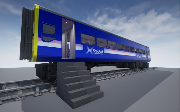 Glasgow Students Team With Scotrail Engineer