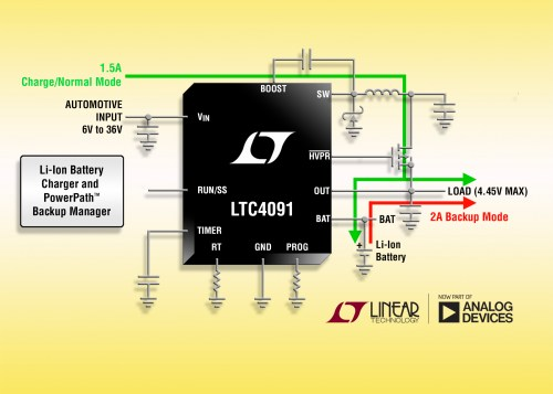 small resolution of 36v buck battery charger provides back up power