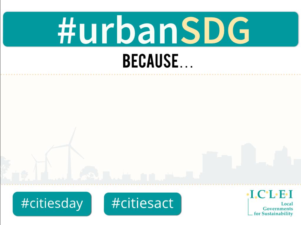 #urbansdg