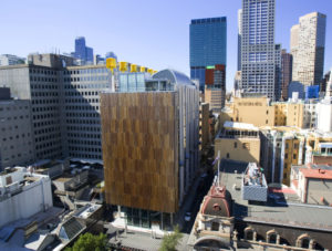 "Council House Two, Melbourne - Recepient of a 6 Star energy rating. Photo: © City of Melbourne ""Zero net emissions by 2020 - Update 2008"""
