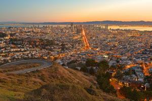Sunrise in San Francisco. Photo courtesy of Nicolas Raymond via Flickr.