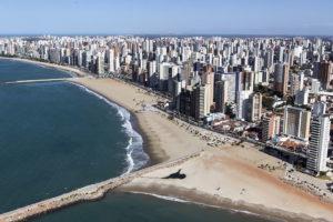 Aerial view of Fortaleza (c) Portal da Copa via Flickr.