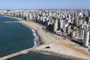 Aerial view of Fortaleza (c) Portal da Copa via Flickr.