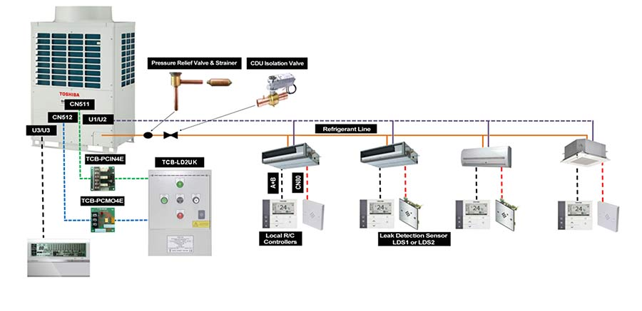 Toshiba Air Conditioning Wiring Diagram. toshiba air ... on