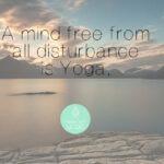 Meditatieve Yoga, pure concentratie.