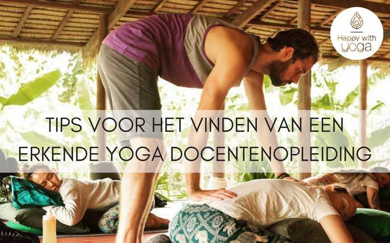 erkende Yoga docentenopleiding