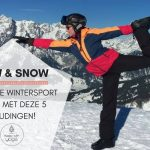 Flow & Snow: Soepel je wintersport door met deze 5 houdingen!