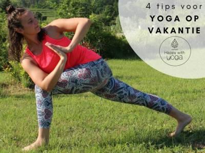 yoga op vakantie