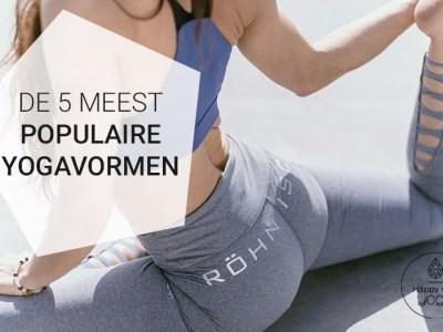 populaire yogavormen