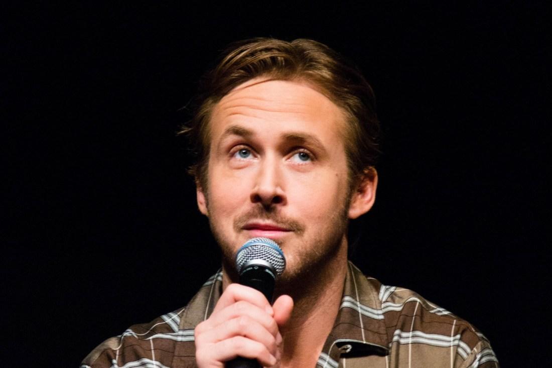 Ryan Gosling bei einer Filmpräsentation.
