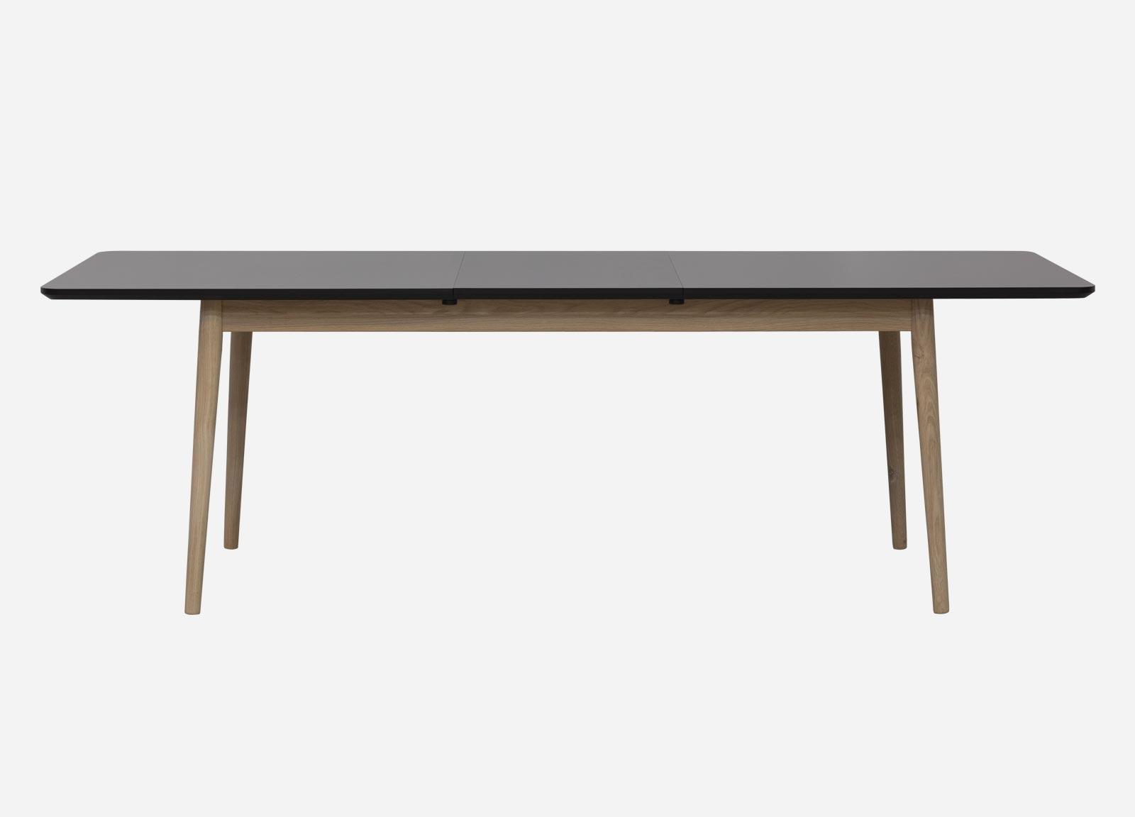 Oppdatert Rundt Spisebord Med Tillægsplader | Tripoli Spisebord 110x110 Cm SE-79